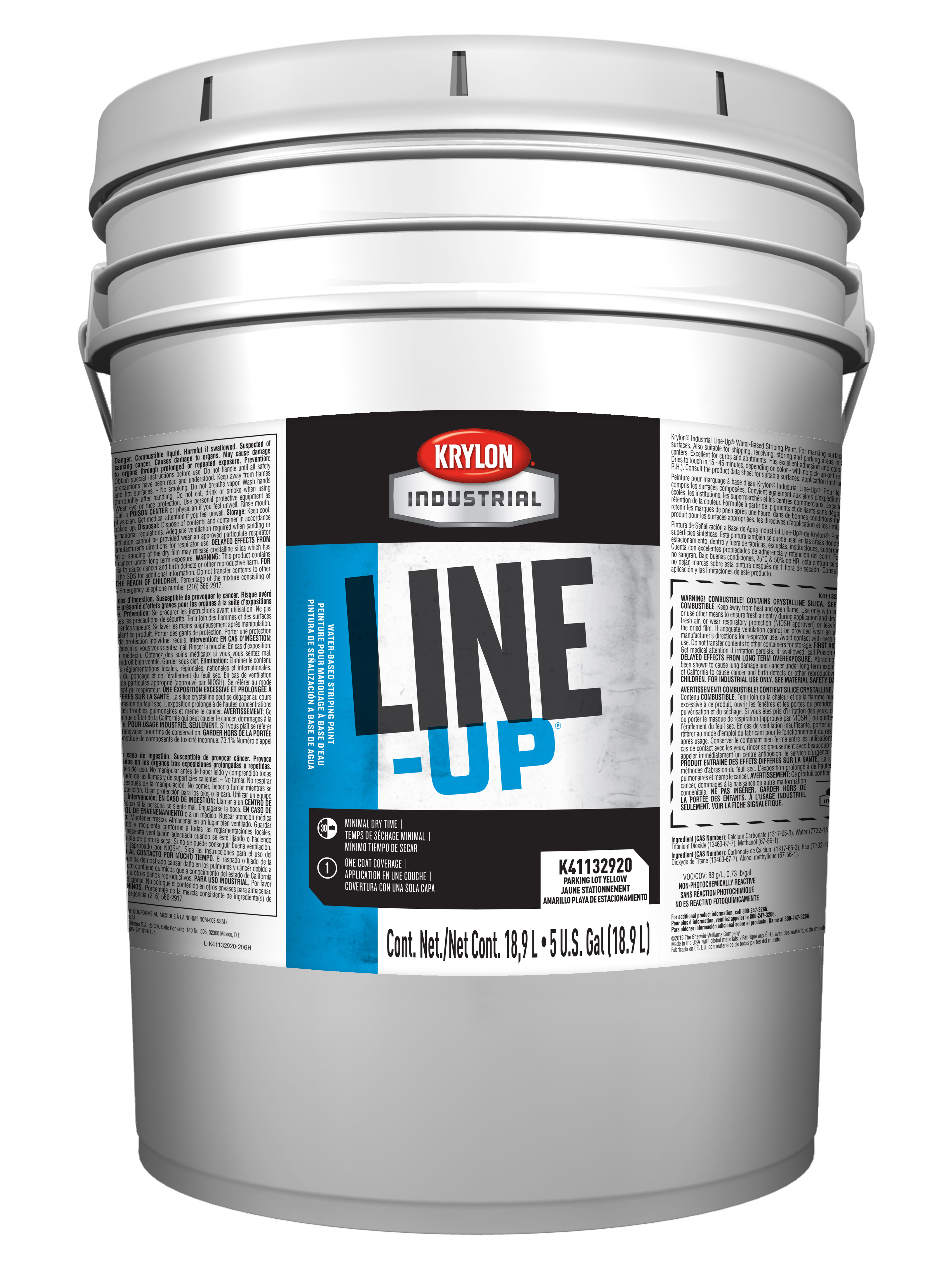 LINE-UP® Water-Based Pavement Striping Paint